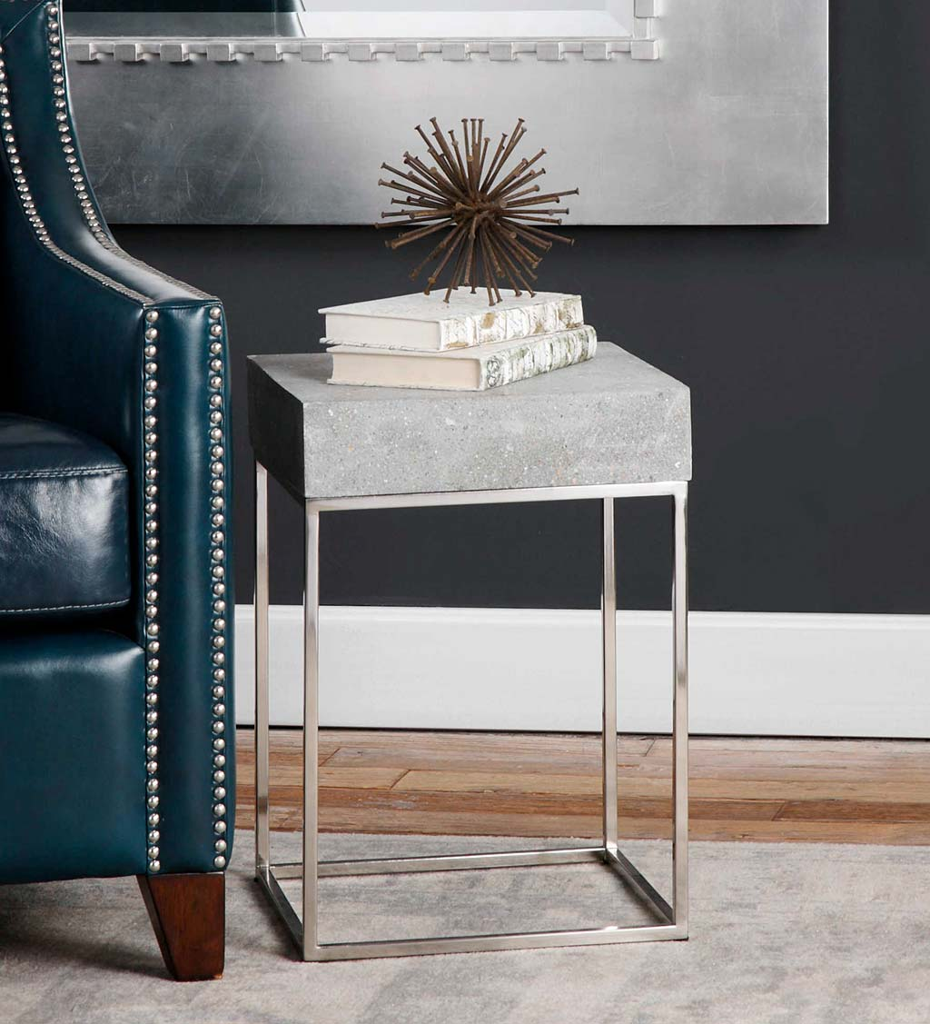 Jude Concrete Side Table