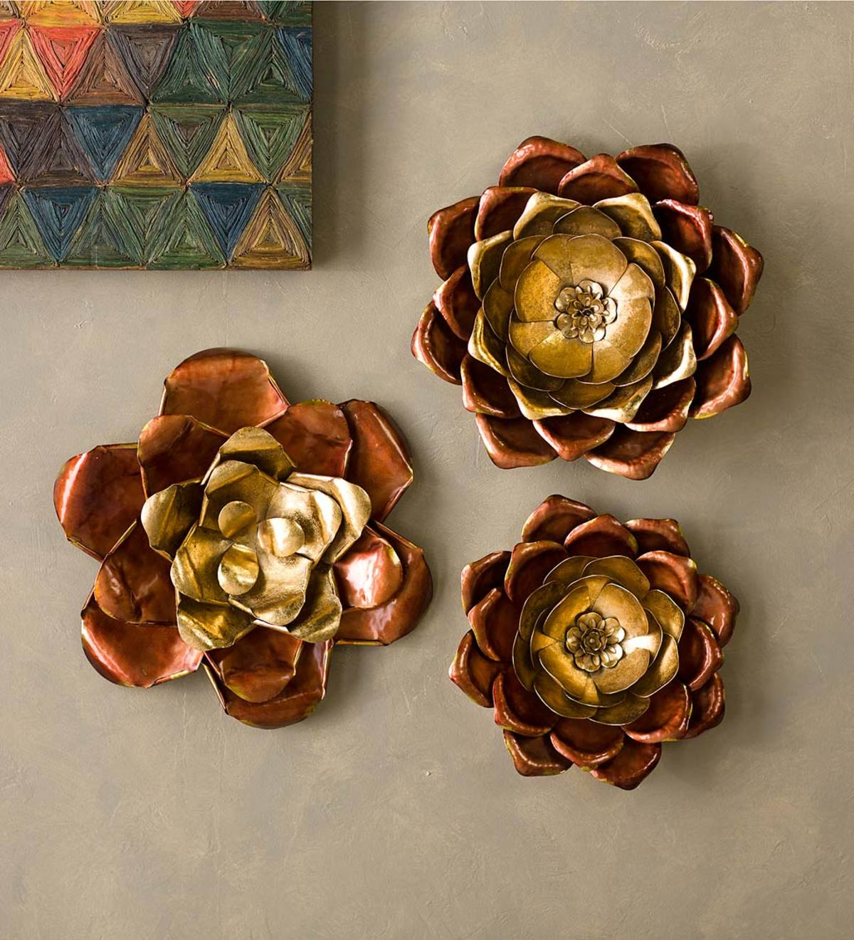 Lotus Bloom Wall Art Set