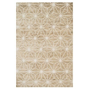 "Loloi Sahara Drawn to Scale Rug in Birch - 7'9"" x 9'9"" - Birch"