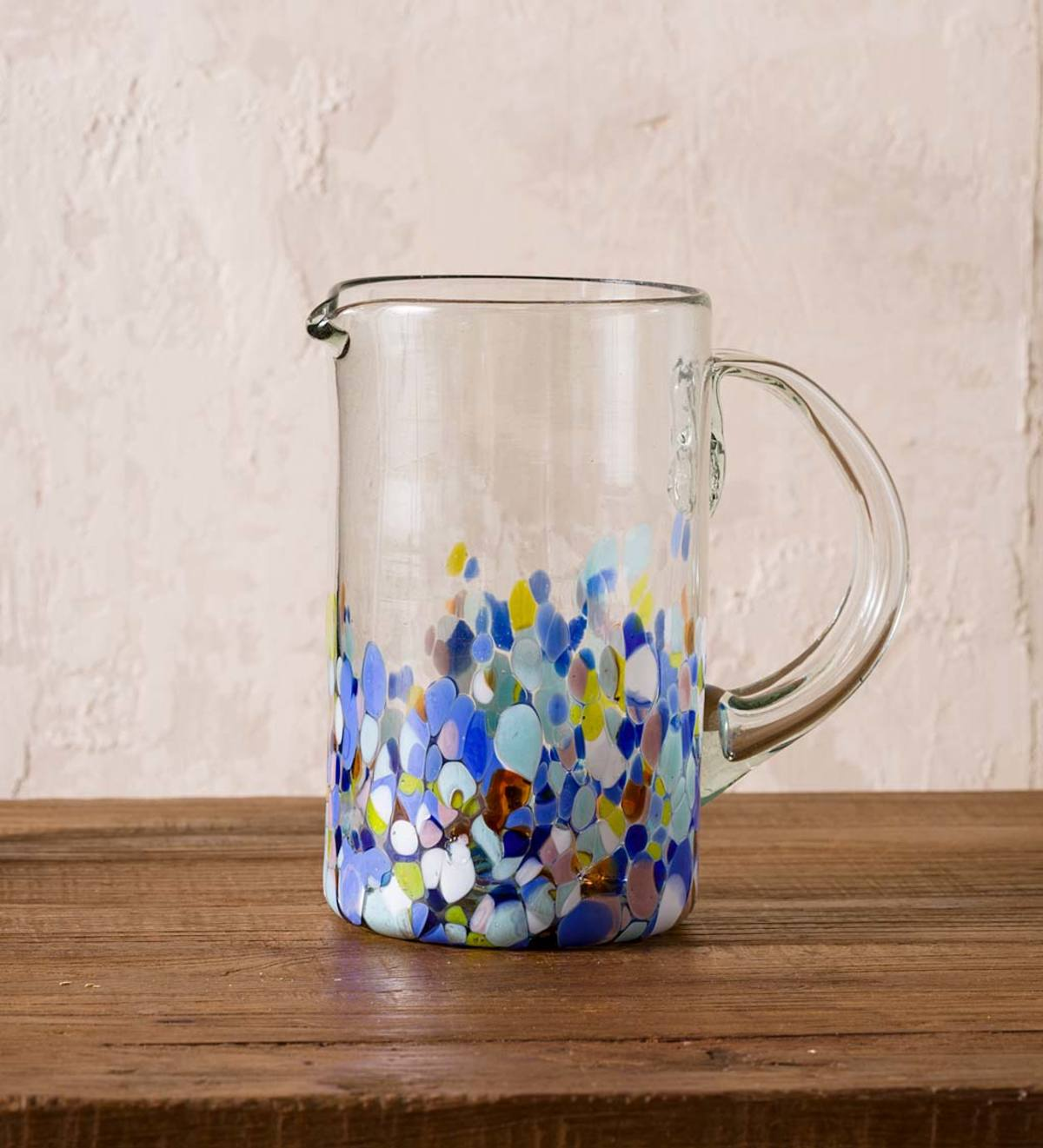Riviera Recycled Glass Pitcher