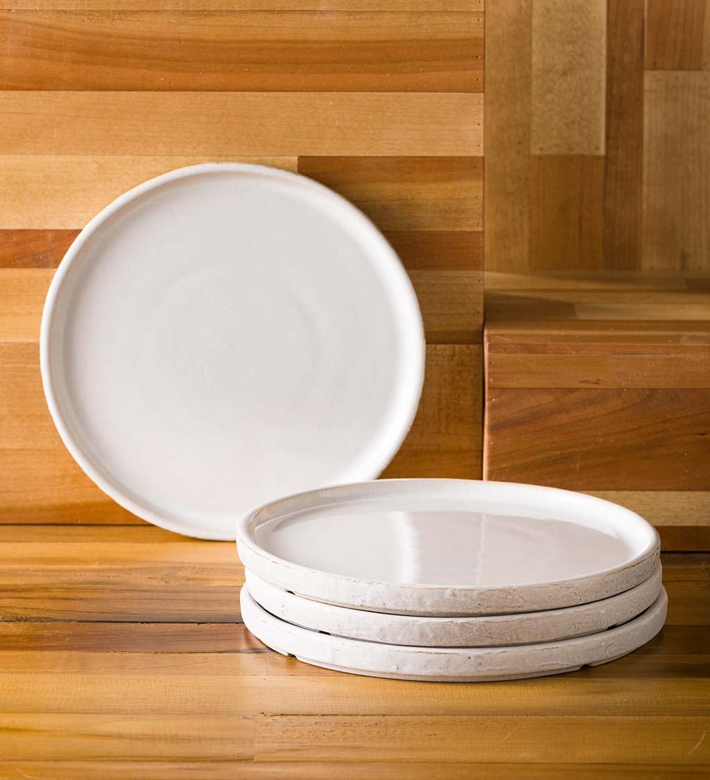 Colima Industrial Salad Plates, set of 4