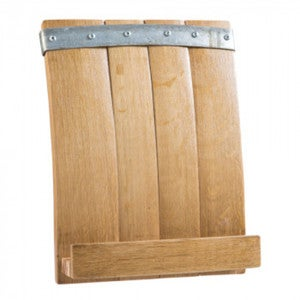 Barrel Stave Cookbook & iPad Stand