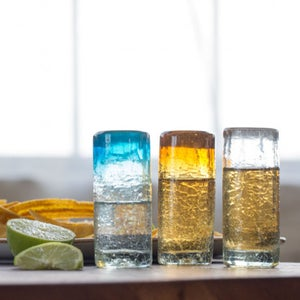 Maya Recycled Shot Glass, Set /4