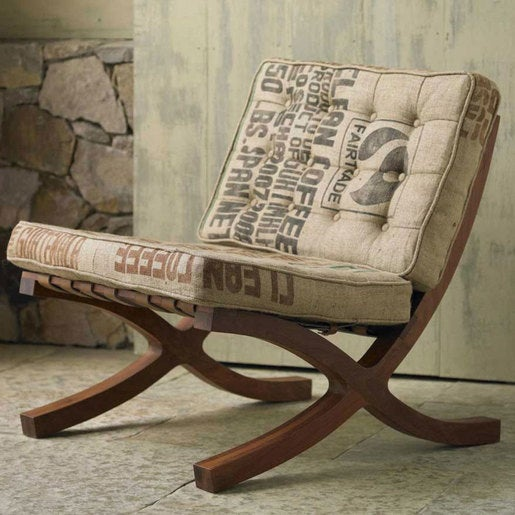 Organic Cotton Butaca Chair