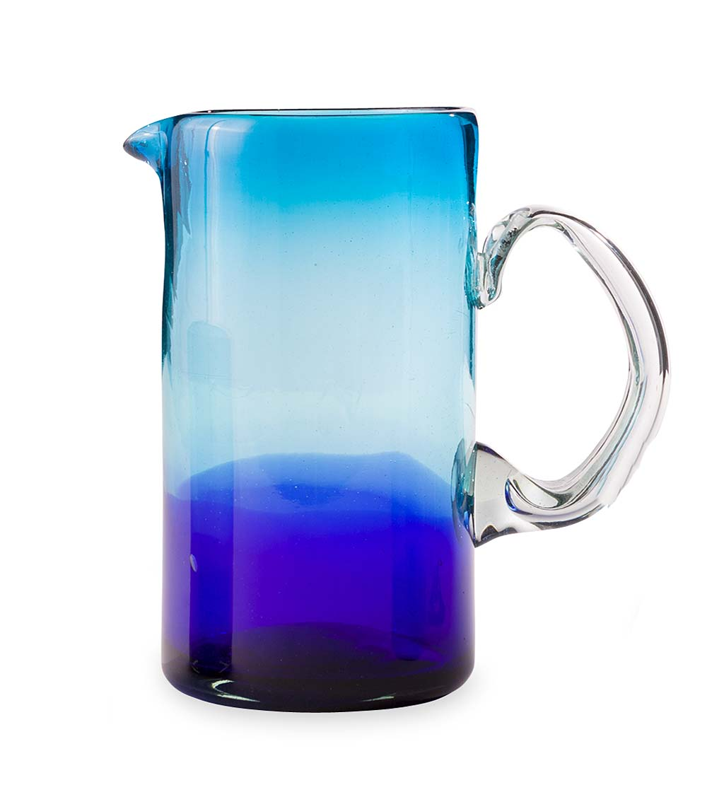 Blue Crush Ombre Pitcher