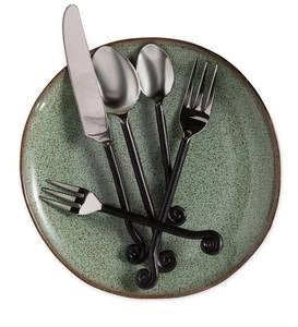 Curled Handle Flatware