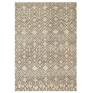 "Loloi Sahara Drawn to Scale Rug in Birch - 7'9"" x 9'9"" - Mediterranean"