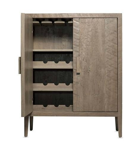 Vintage Fir West Linn Wine Cabinet