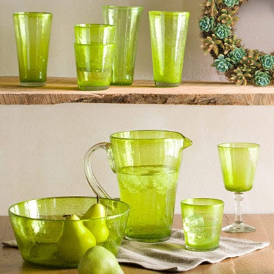 Bright Bubbled Recycled Drinkware Collection