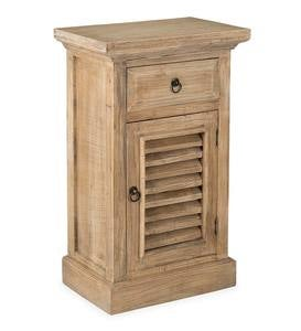 Promenade Side Table with Shutter Door