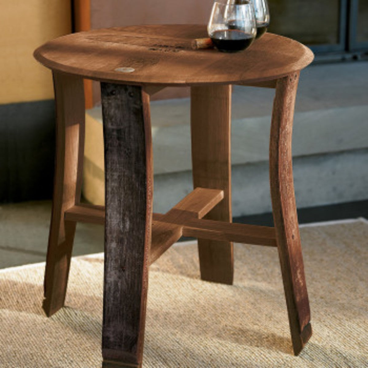 Barrel Stave Table