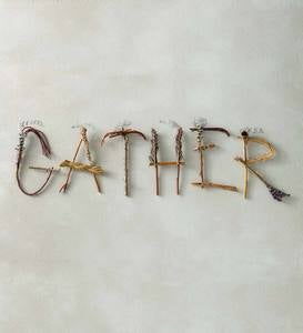 """Gather"" Twig Wall Art"