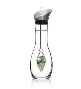 "VitaJuwel Gemstone Enhanced ""Forever Young"" Water Vial & Decanter Set"