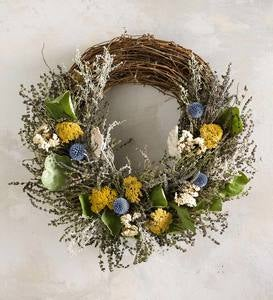 Yarrow and Lavender Wreath