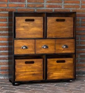 Craftsman Hardwood Chest of Drawers