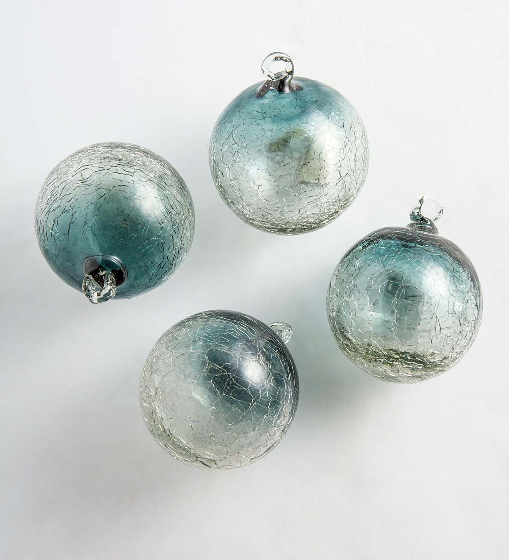 Maya Recycled Ornaments, Set of 4