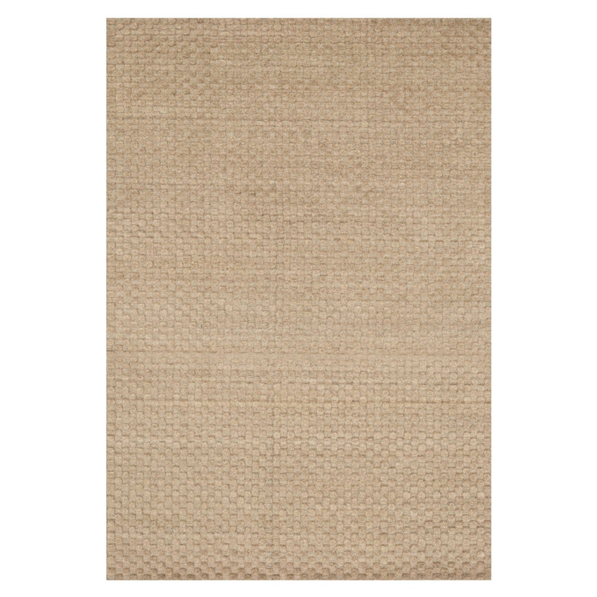 "Loloi Hadley Dotted Rug in Dune - 9'3"" x 13'  - Oatmeal"