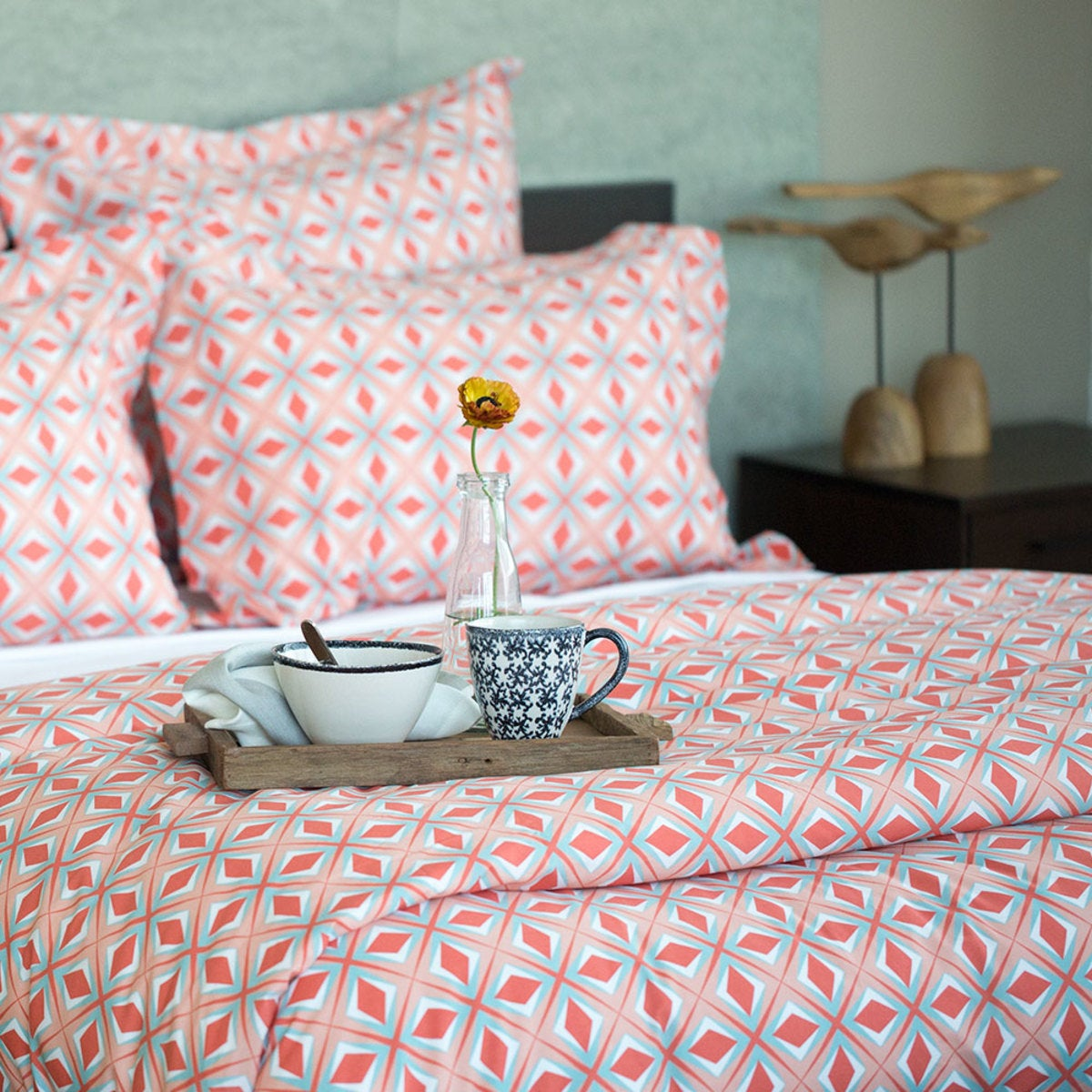 Geo Print Bedding Collection
