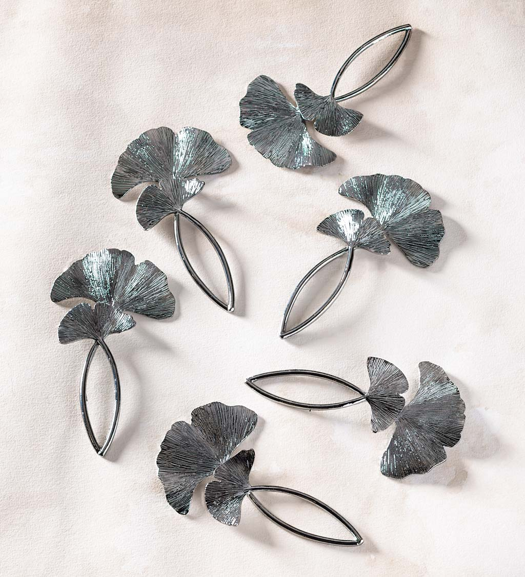 Ginkgo Table Decor, Set of 6