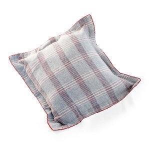 Herringbone Plaid Decorative Pillow