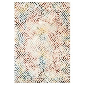 "Loloi Folklore Rug, 9'3"" x 13' - Spiced Diamonds"