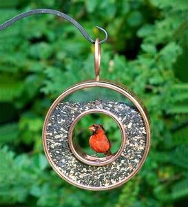 Copper Fly-Thru™ Bird Feeder