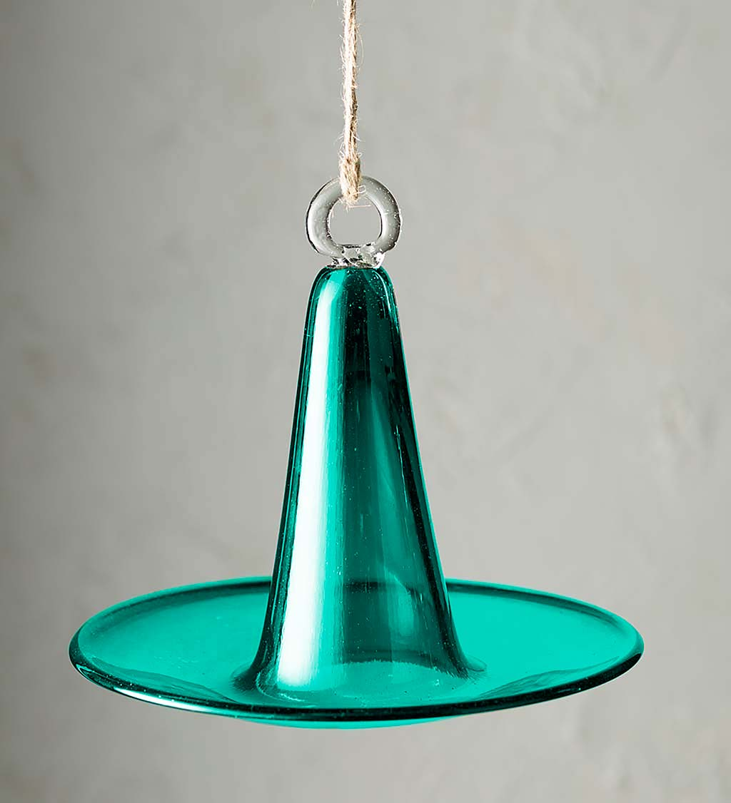 Pyramid Recycled Glass Bird Feeder