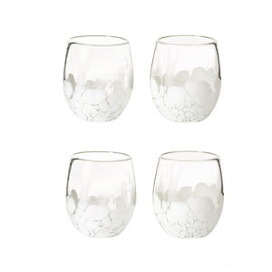 Laguna Recycled Stemless Wine Glass, Set of 4