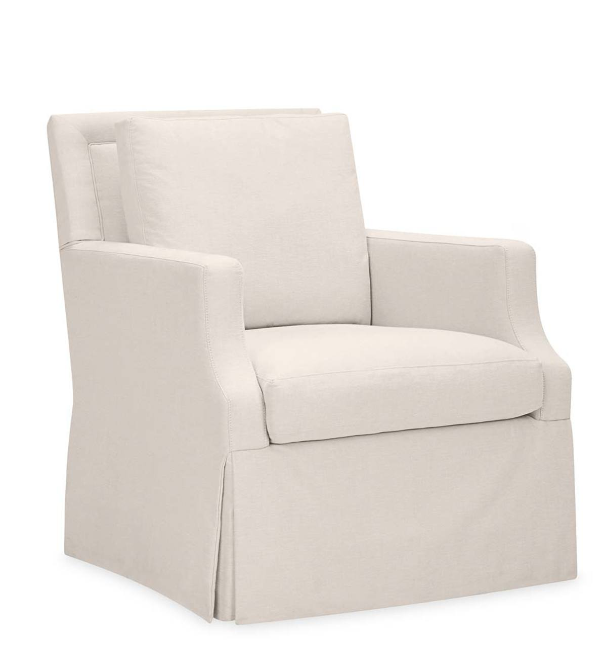 Swivel Armchair - Brussels Linen