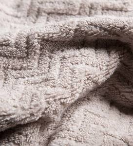 Chevron Cotton Velour Bath Towels