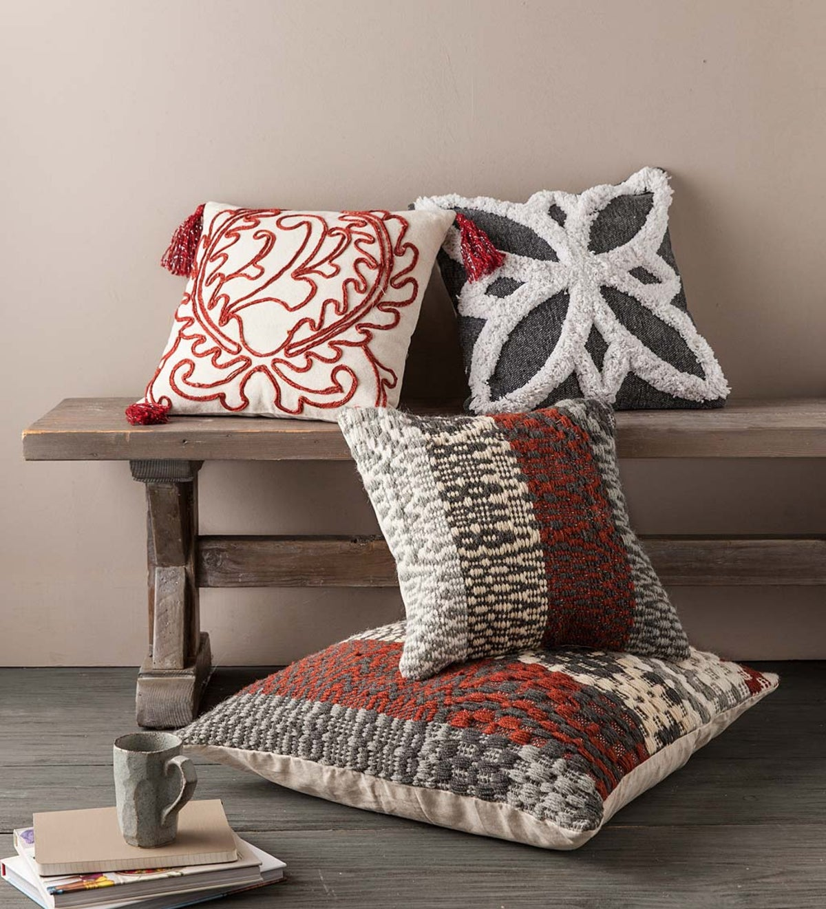 Woven Pillow Cover Collection