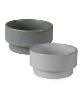 Petit Pedestal Bowls and Stacking Bowls Collection