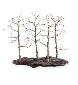 Bronze Bonsai Forest Sculpture
