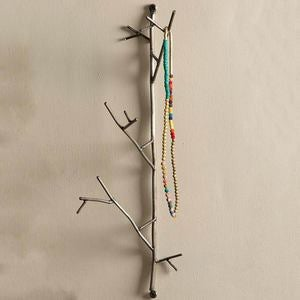 Large Metal Twig Wall Hook