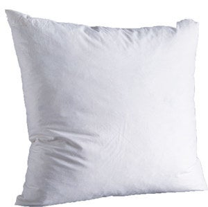 "Natural Down-Filled 24""SQ. Decorative Pillow Insert"