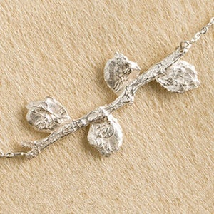 Family Blooming Leaf Necklaces & Earrings