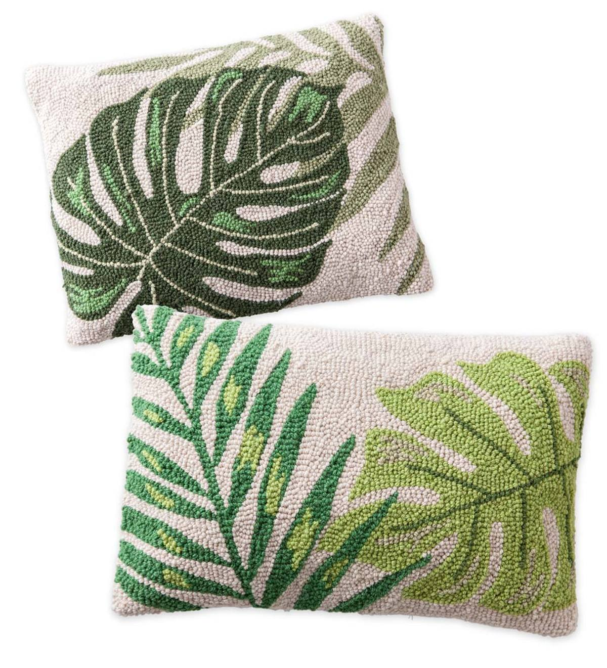 Hand Hooked Wool Pillows