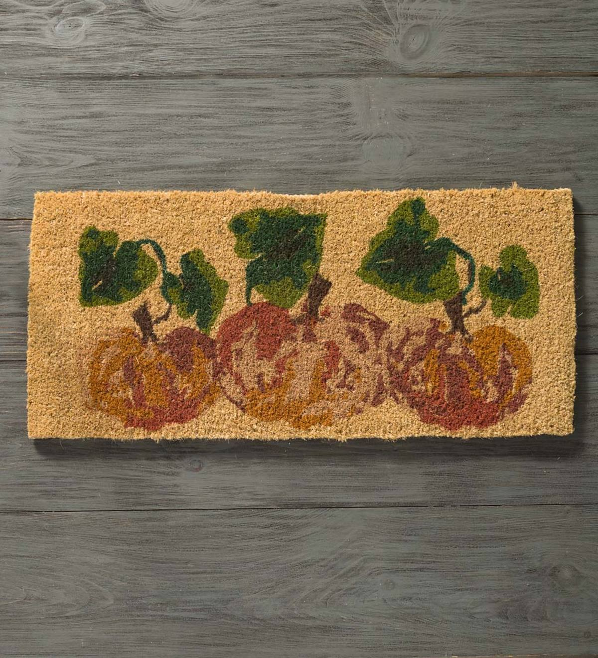 Pumpkin Seasonal Coir Mat