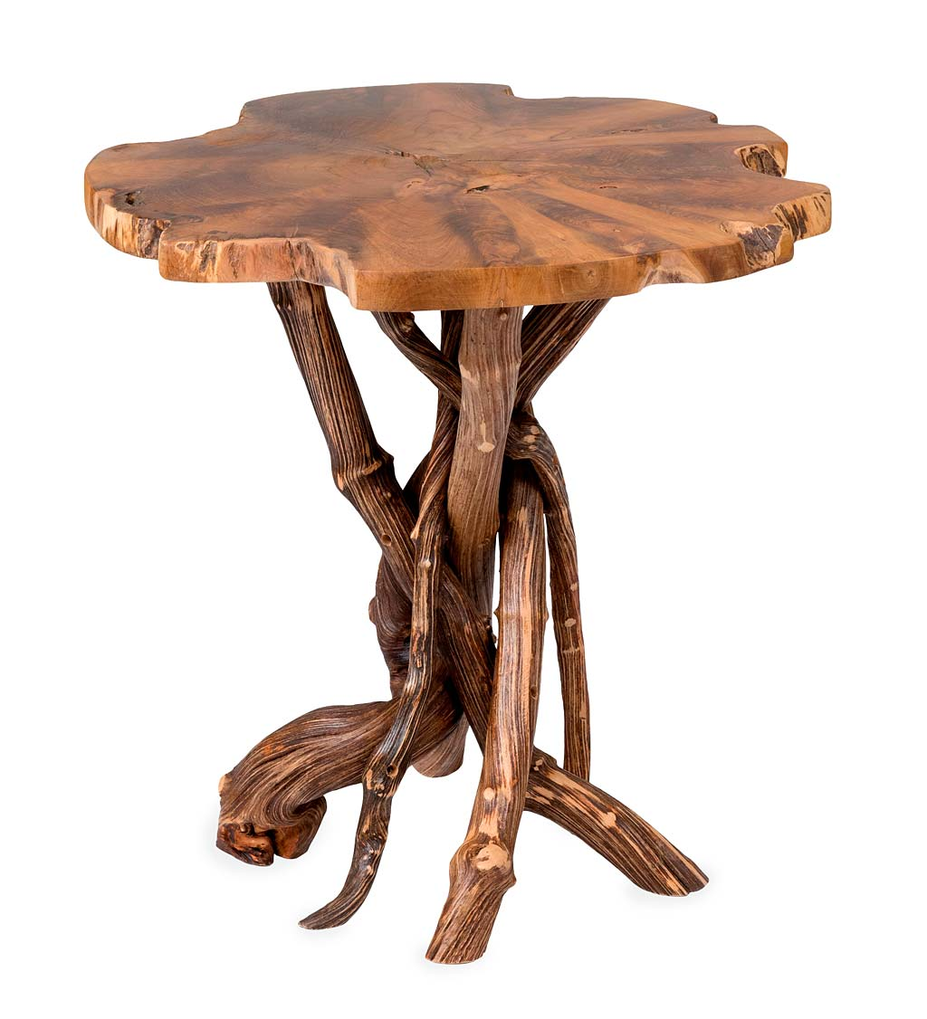 Picture of: Roell Teak Side Table Vivaterra